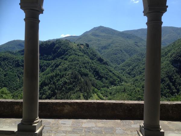 olasz hegyek
