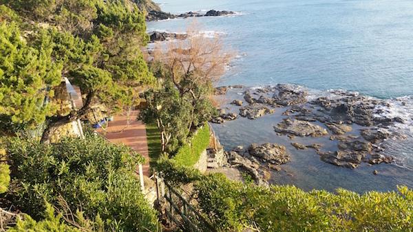 giardino con mare copia