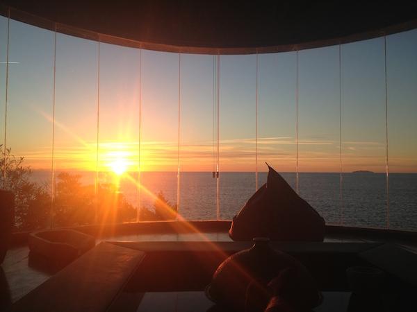 gorgona in tramonto copia