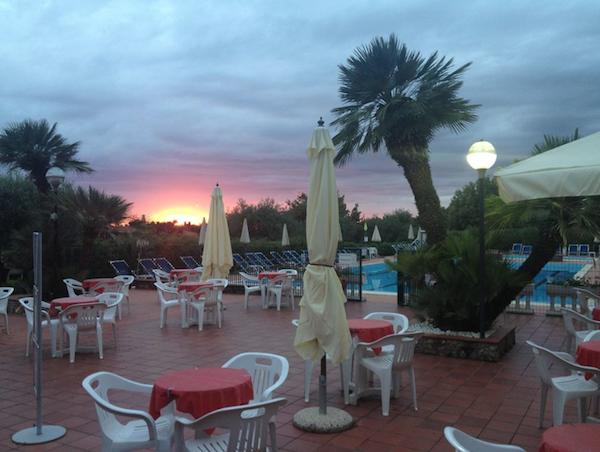 pavillon tramonto