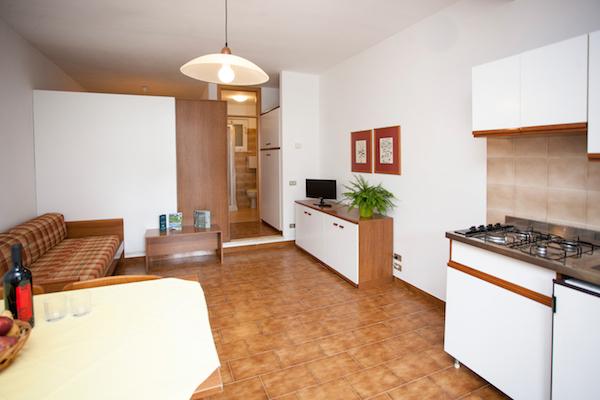 soggiorno:cucina monolocali
