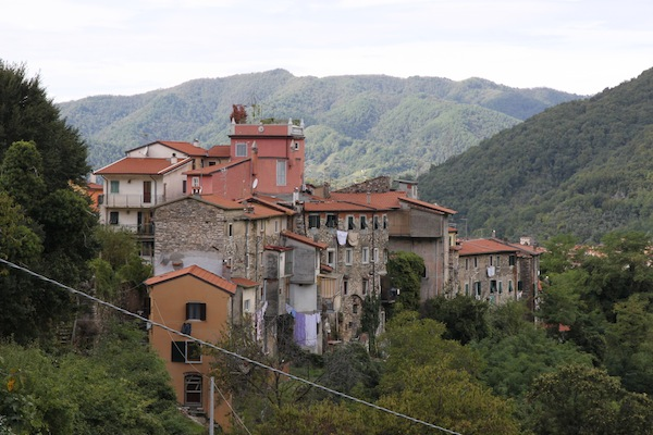 paese in montagna