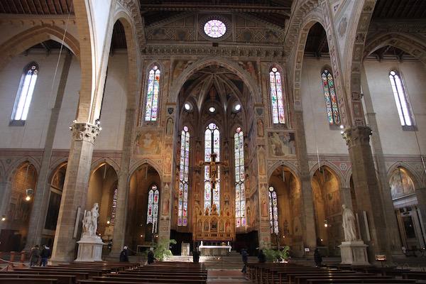 santa croce interno